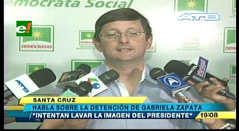 Detención de Zapata busca alejarla de la comisión legislativa que investiga el caso CAMC