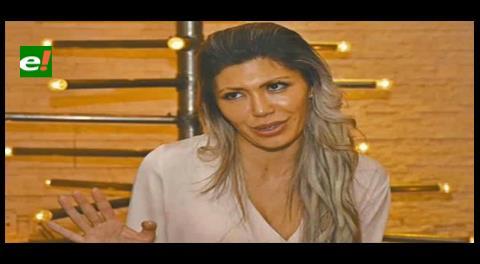 Gabriela Zapata desde la FELCC: Váyase a la mierda