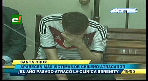 A Palmasola chileno acusado de robo de joyas