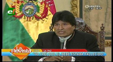 Evo promete hacerse cargo del hijo que tuvo con Gabriela Zapata