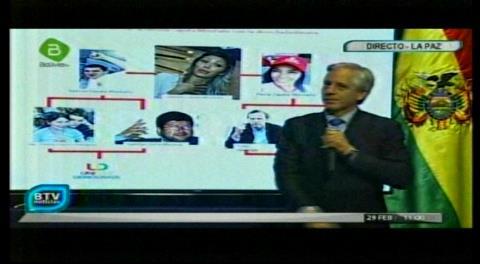 Gobierno ahora relaciona a Gabriela Zapata con Tuto y Samuel, habla de tramoya con la oposición a través de sus hermanos
