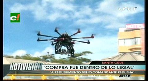 Percy autorizó la compra de equipo de monitoreo con dron