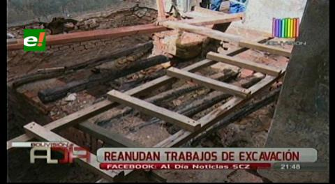 Descubrimiento arqueológico: Hay tres hipótesis sobre bóveda en el ex colegio Santa Ana