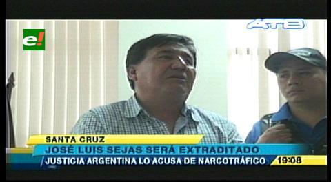"""José Luis Sejas puede ser extraditado a argentina por caso """"narcocisternas"""""""