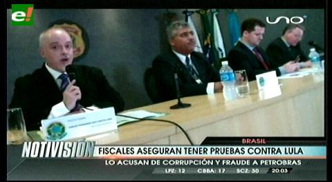 Fiscal de Brasil: Hay 39 páginas de pruebas contra Lula da Silva