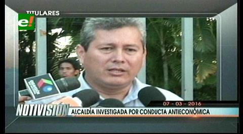 Titulares de TV: Fiscalía sentó una denuncia contra la Alcaldía cruceña por conducta antieconómica