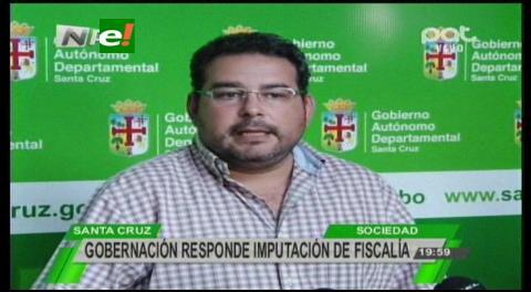 Gobernación cruceña califica de revanchista y política acusación contra Rubén Costas