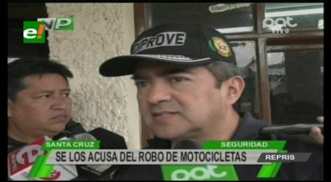 Capturan a cuatro individuos por robo de motos