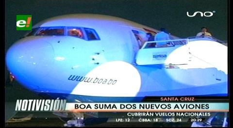 Evo presenta dos nuevas aeronaves para operaciones de BoA