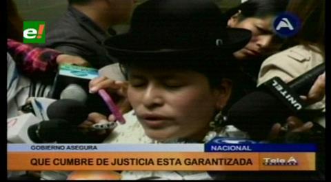 Ministra de Justicia dice que el trabajo del Consejo de la Magistratura es deficiente