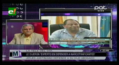 """Ex embajador Jerjes Justiniano llama """"mediocre"""" al ministro Romero"""
