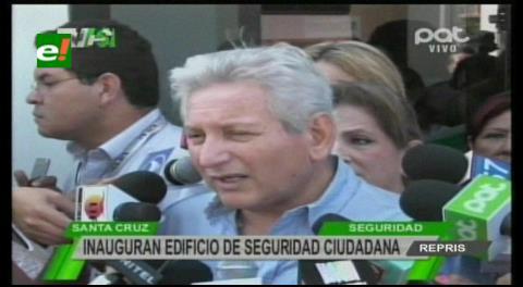 Rubén Costas afirma que un Gobierno Autónomo debe tener una Guardia Departamental