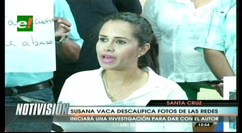 Concejala Vaca aclara que solo tiene una relación de trabajo con Evo Morales
