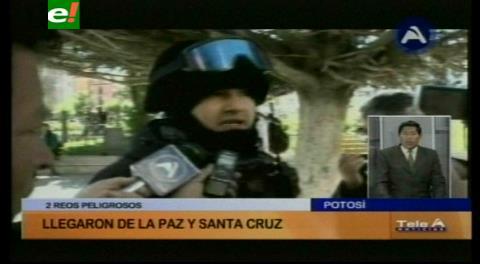 Potosí: Reos peligrosos son llevados a juicio oral por robo agravado