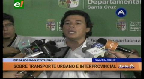 Gobernación y JICA elaboraran estudio sobre la problemática del transporte en Santa Cruz