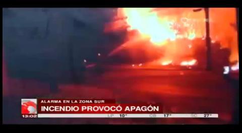 La Paz: Incendio en la embajada de Italia provocó apagón en Obrajes