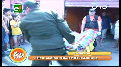 """Joven de 20 años se suicida en una """"rockola"""""""