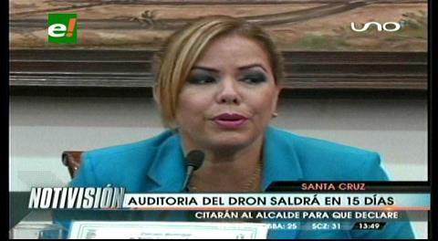 """Sosa: """"Auditoría del dron saldrá en 15 días"""""""