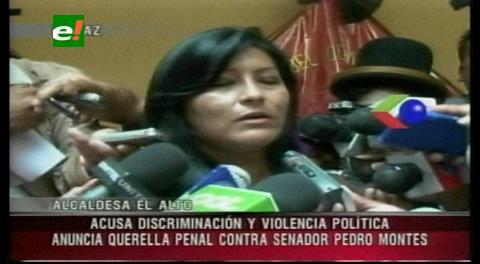 Alcaldesa Chapetón iniciará un juicio a Montes por acoso político y discriminación