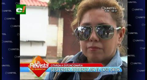 Ex funcionaria responsabiliza a José Canudas por compra del dron