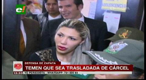 Defensa de Gabriela Zapata teme su traslado a otra cárcel del país