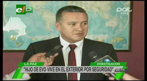 Abogado de Gabriela Zapata: Hijo de Evo Morales vive en el exterior por seguridad