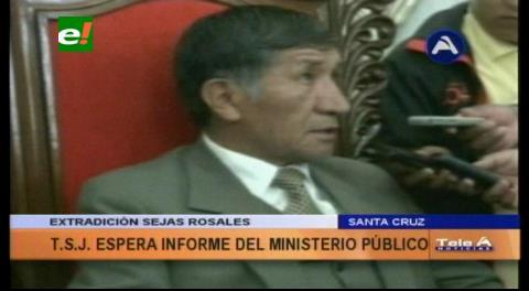 TSJ: Extradición de Sejas es tratada por la Fiscalía