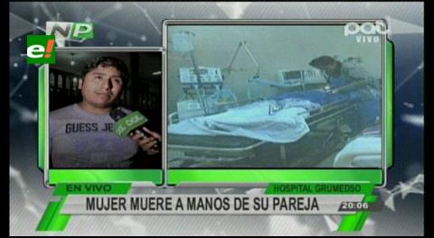 La mujer que fue golpeada por su pareja perdió la vida