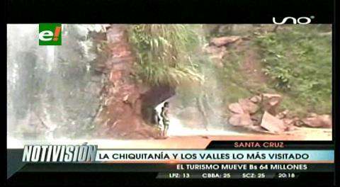 Gobernación cruceña invita a visitar lugares turísticos en Semana Santa