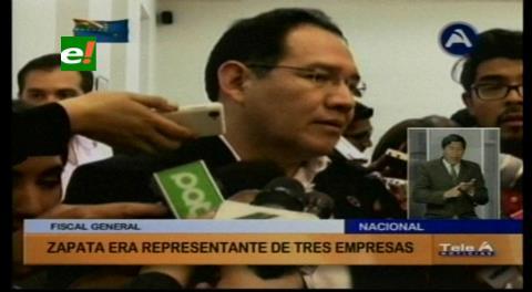 Guerrero afirma que Zapata era representante de tres empresas