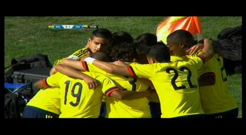 Colombia gana parcialmente por 1-0 a Bolivia en el Hernando Siles