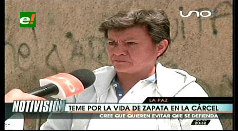 Pilar Guzmán denunció que Gabriela Zapata fue extorsionada en la cárcel de Obrajes