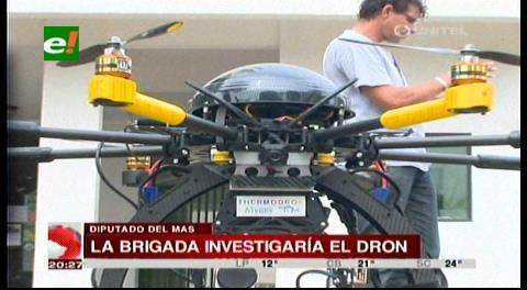 Diputado del MAS no descarta una comisión para investigar la compra del dron