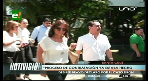 Desirée Bravo declaró por el caso del centro de monitoreo