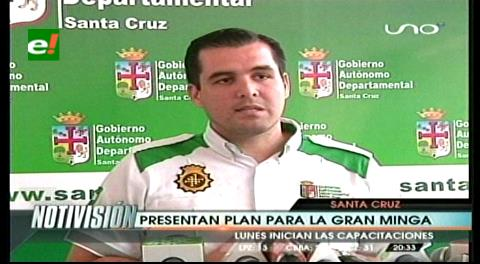 Santa Cruz: Presentan Plan Departamental para Gran Minga contra el Aedes Aegypti