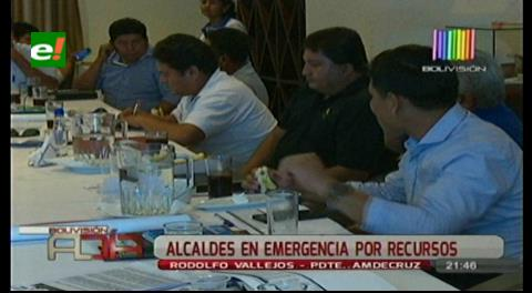Santa Cruz: Alcaldes en emergencia, exigen regalías para los municipios