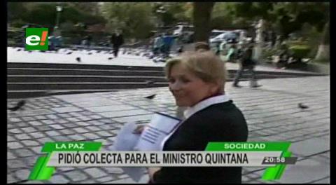 Hacen campaña solidaria para que «pobrecito» ministro Quintana pague abogados