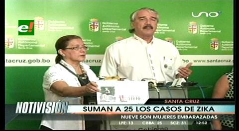 Reportan el primer caso de zika en La Guardia y suman 25 en Santa Cruz