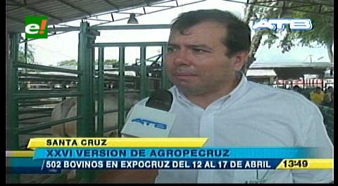 Arranca Agropecruz 2016 con el ingreso de ganado al campo ferial de Fexpocruz