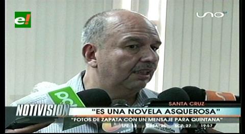 """Murillo y el caso Zapata: """"Es una novela asquerosa, Quintana debería estar en la cárcel"""""""