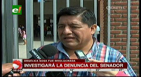 Tráfico de influencias: Concejal del MAS investigará denuncia contra Angélica Sosa