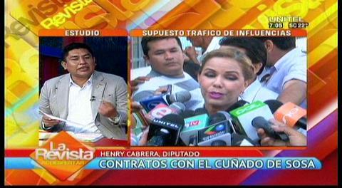 Diputado critica la soberbia de Angélica Sosa, pide informes sobre casos que involucran a su cuñado