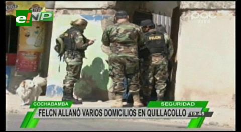 Felcn allana bienes de la Presidenta del Concejo Municipal de Quillacollo