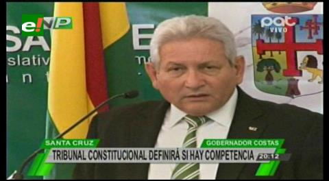 Costas pide que el TCP dirima si debe ir ante el Congreso