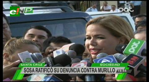 Sosa quiere que Murillo se disculpe