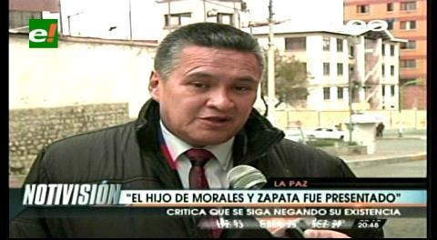 León critica al abogado de Morales por seguir negando la existencia del hijo del mandatario
