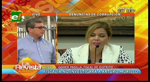 Fiscalía no tiene reporte oficial de una segunda denuncia de Sosa contra Murillo
