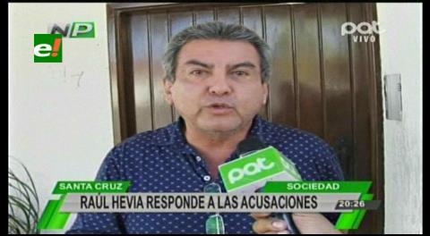 Raúl Hevia descarta sobreprecio en compra de equipos