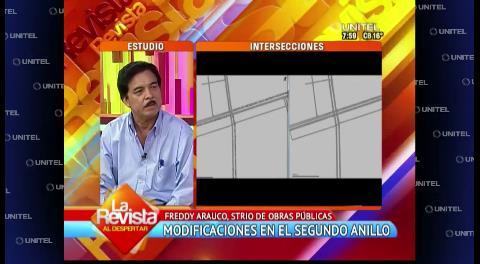 Cambios en la intersección de la Santos Dumont costará Bs. 200 mil