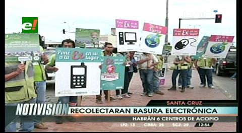 Día mundial de la Tierra: Recolectarán basura  electrónica en Santa Cruz